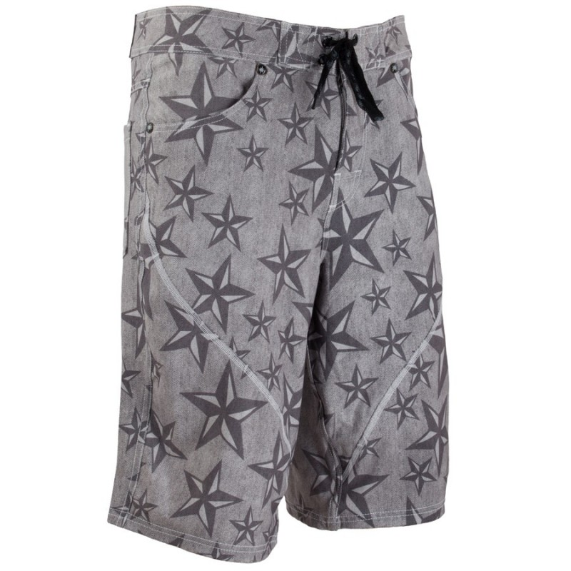 men's boardshort nine ink no-tik