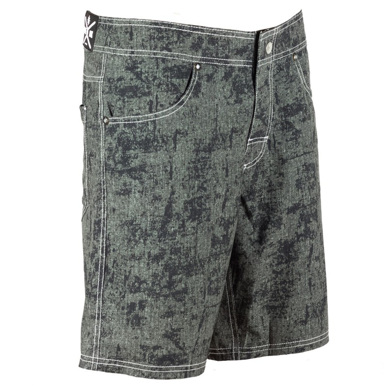 men's boardshort nine ink d-black